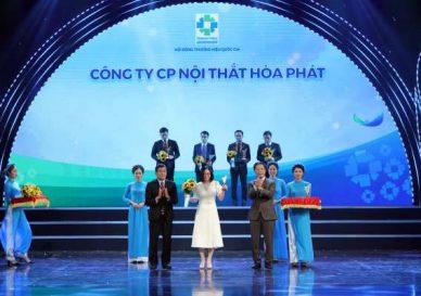 Vinh danh Nội thất Hòa Phát tại Lễ công bố Thương hiệu Quốc gia 2020