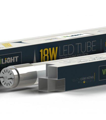 Led tube thủy tinh T8 1.2m 18W VLETU18SL12