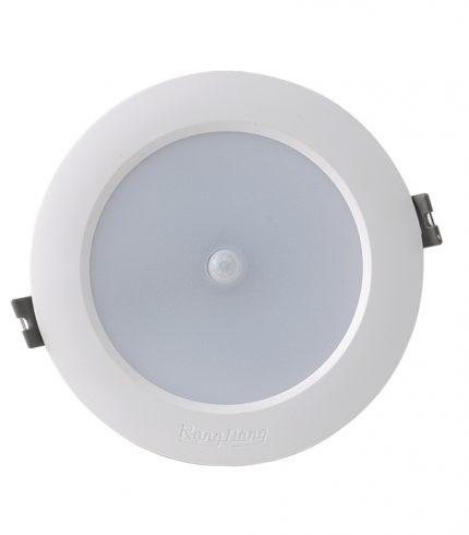 Led downlight âm trần tròn 9W cảm biến 6500K Rạng Đông