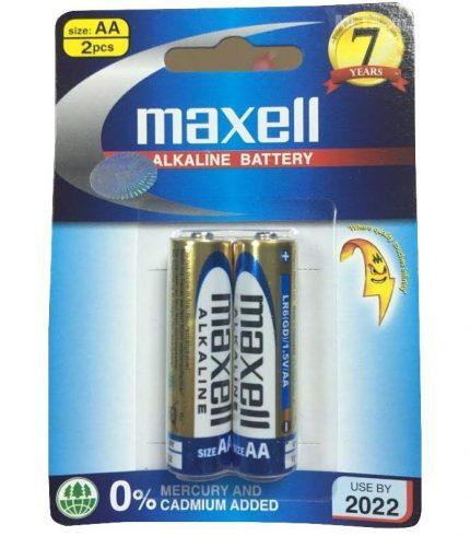 Pin AA Maxell Alkaline LR6(GD) 2B